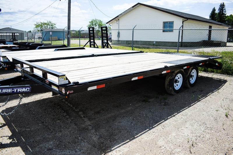 2018 Sure-Trac 8.5 X 16 + 4FT Pop Up Tail Deckover 10k