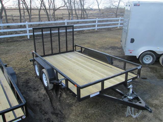 2017 Sure-Trac Tube Top Utility Trailer 7 X 12  T/A 7k
