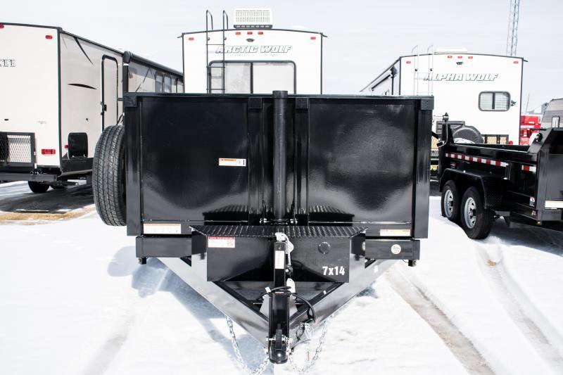 2020 Sure-Trac 7 X 14 LP 14K Telescopic Dump