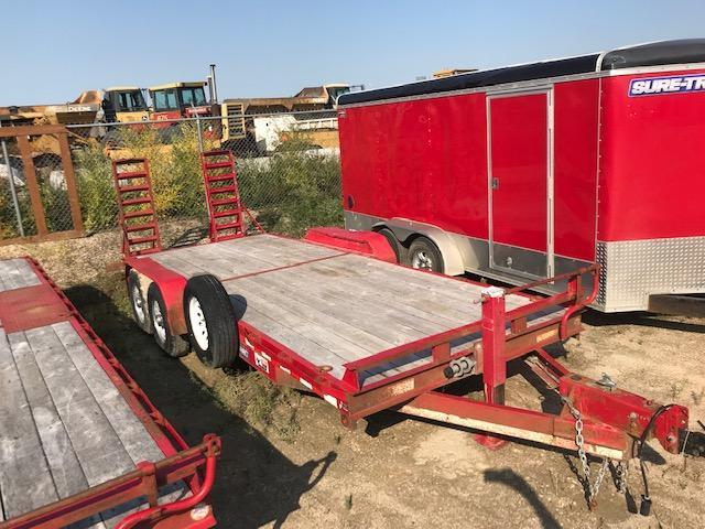 2015 Sure-Trac 7 X 20 14K Implement Equipment Trailer