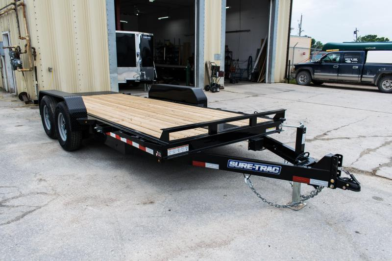 2020 Sure-Trac 7 X 18 14K Tilt Bed Equipment Trailer 14K