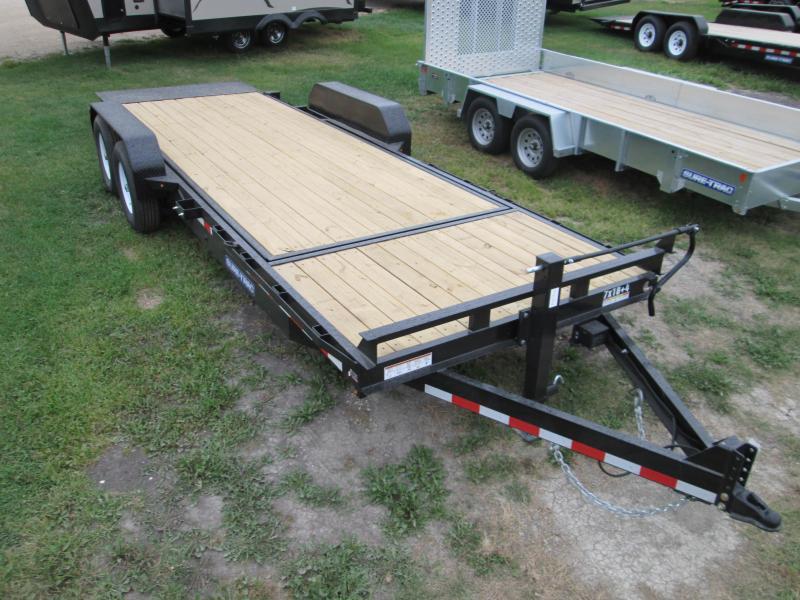 2018 Sure-Trac 7 X 18 + 4 Tilt Bed Equipment Trailer