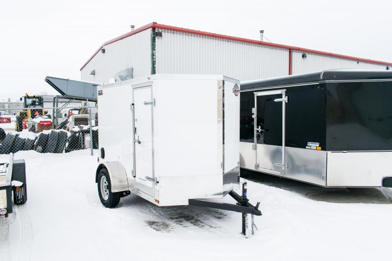 "2019 Cargo Mate 5X8 Enclosed Cargo Trailer +6"" Barn"