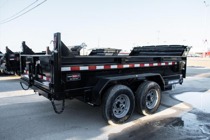 2020 Sure-Trac 6 x 12  10K Single Ram Dump Trailer