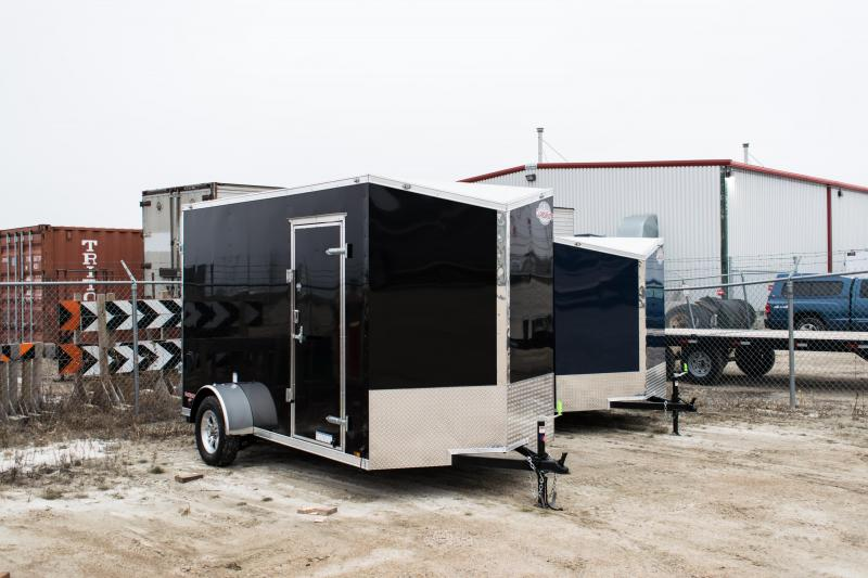 2020 Cargo Mate 6.5 x 12 Enclosed Cargo Trailer 3K Ramp