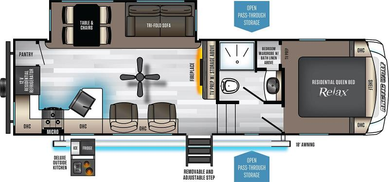 2020 Arctic Wolf Limited 271RK-L Couples Model Fifth Wheel Campers RV