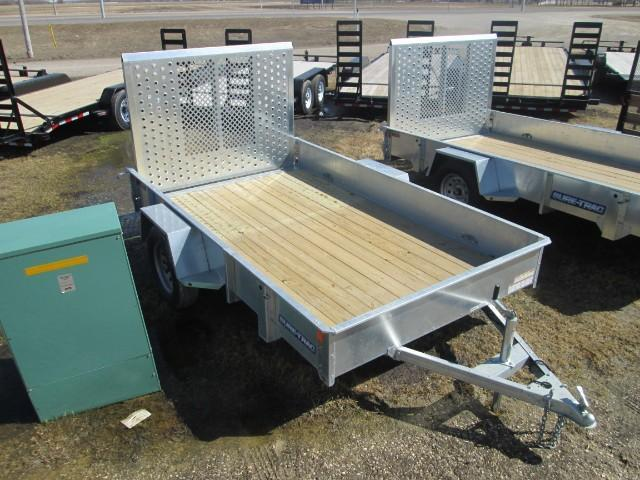 2017 Sure-Trac Galvanized High Side Utility 6' x 10'