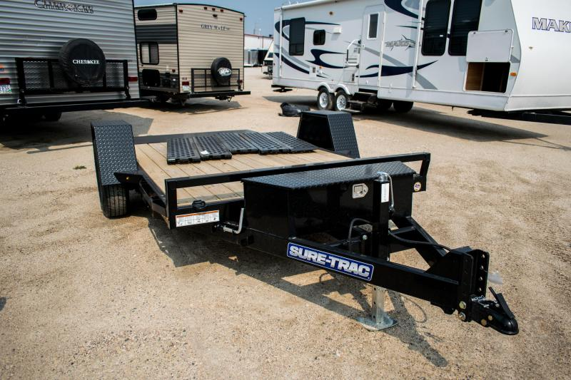 2019 Sure-Trac 78 IN x 12 Tilt Bed Equipment 7.8K