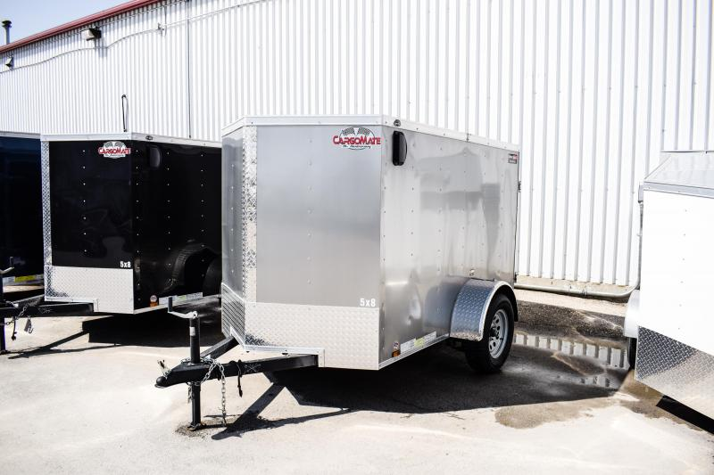 2017 Cargo Mate E Series Wedge 5 x 8 Enclosed Trailer