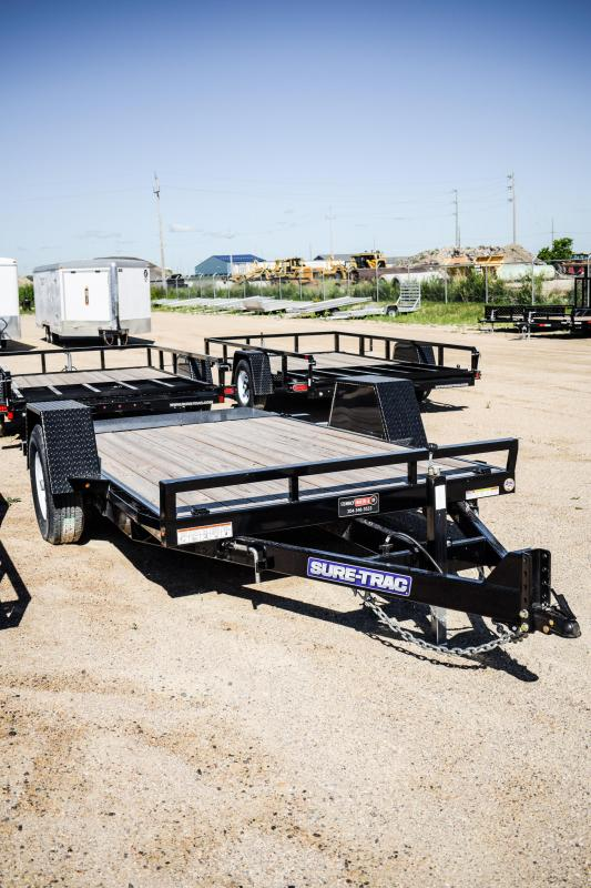 2018 Sure-Trac 78 IN X 12 Tilt Bed Equipment  7K