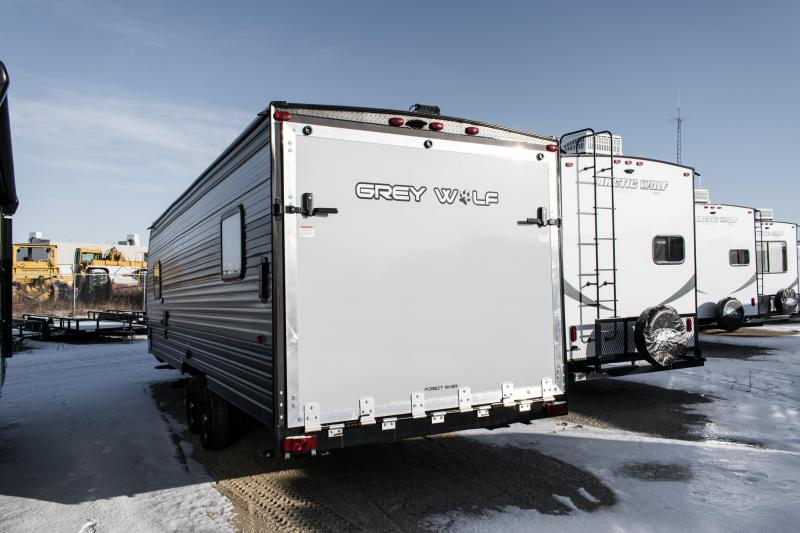 2020 Grey Wolf Limited 22RR Toy Hauler Camper Trailer