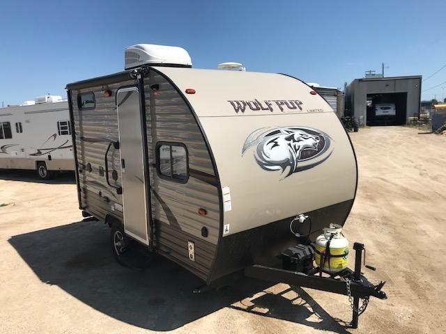 2016 Wolf Pup 13CJ Travel Trailer Camper