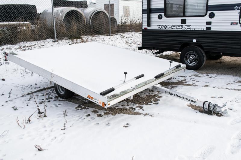2017 SnoPro 10ft Lite-E 2-Place Snowmobile Trailer