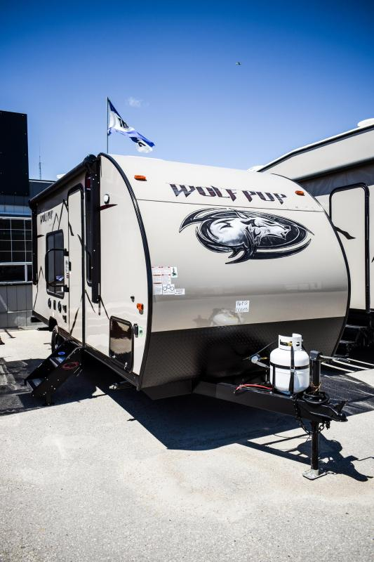 2019 Cherokee Wolf Pup 16FQ Travel Trailer