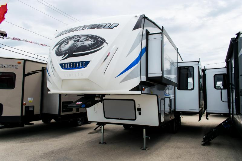 2019 Arctic Wolf Limited 245RK4-L 5th Wheel Travel Trailer