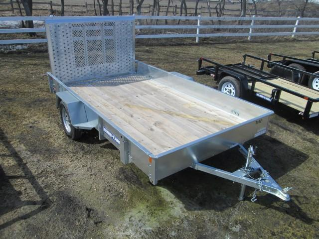 2017 Sure-Trac Galvanized High Side Utility 7