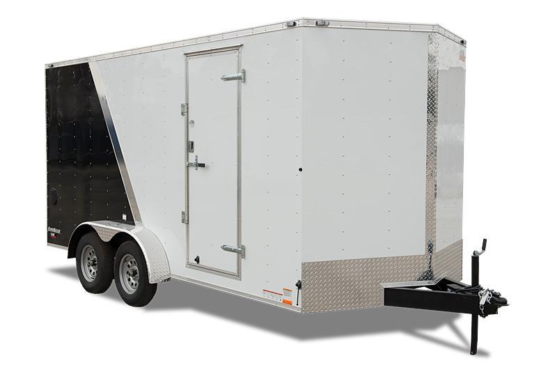 2019 Cargo Mate 8X16 Enclosed Trailer 7K Ramp