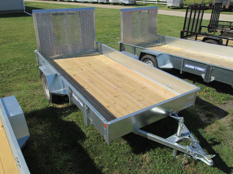 2017 Sure-Trac 6 x 12 Galvanized High Side 3k