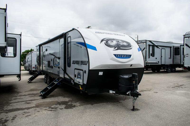 2020 Alpha Wolf Limited 29QB-L Bunk Model Travel Trailer