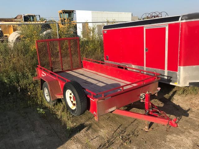 2015 Sure-Trac 6 X 12 Steel High Side Utility Trailer 5K Brakes
