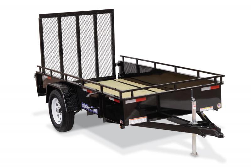 2015 Sure-Trac 6 X 12 Steel High Side Utility Trailer 5K Brakes