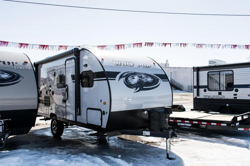 2019 Wolf Pup Limited 16BHS Black Label Travel Trailer