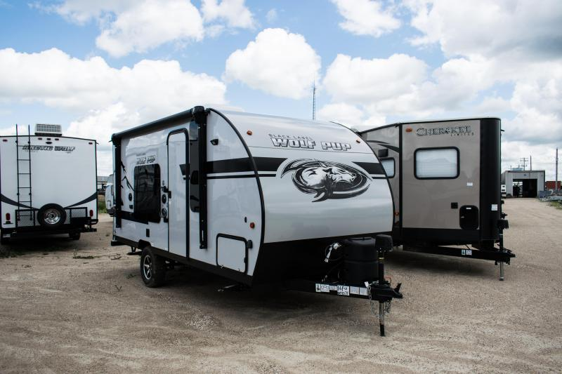 2020 Wolf Pup Black Label Edition 16FQ Travel Trailer