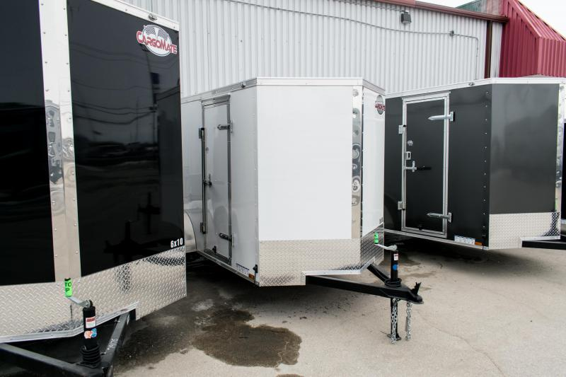 2019 Cargo Mate 5 X 10 Enclosed Cargo Trailer 3K