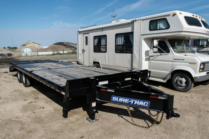2020 Sure-Trac 8.5x20+5 LowPro Deckover Tandem Pintle 22.5K