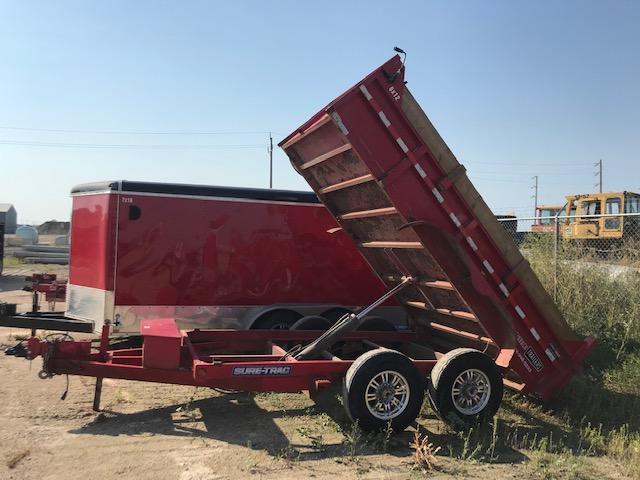 2015 Sure-Trac 6 X 12 Dump Trailer TA 10K