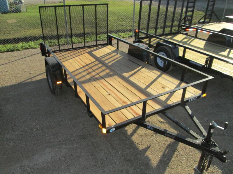 2018 Force 6.5 X 12 Angle Iron Utility Trailer 3K