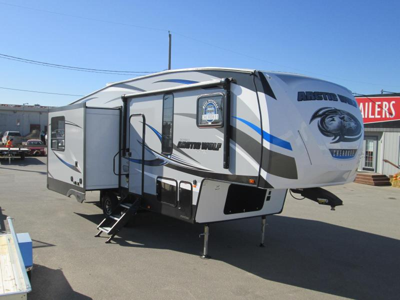 2018 Arctic Wolf Limited 285DRL4 5th Wheel Trailer