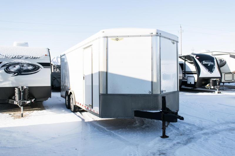 2008 H&H 8 x 20 Enclosed Cargo  Car / Racing Trailer 10K Ramp