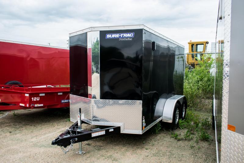 2019 Sure-Trac 6 x 12 Pro Series Wedge Cargo TA 7K Ramp