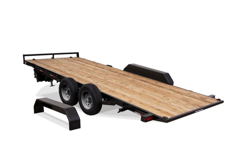2018 Sure-Trac 7 X 18 10K (Manual) Tilt Bed Car Hauler Car / Racing Trailer