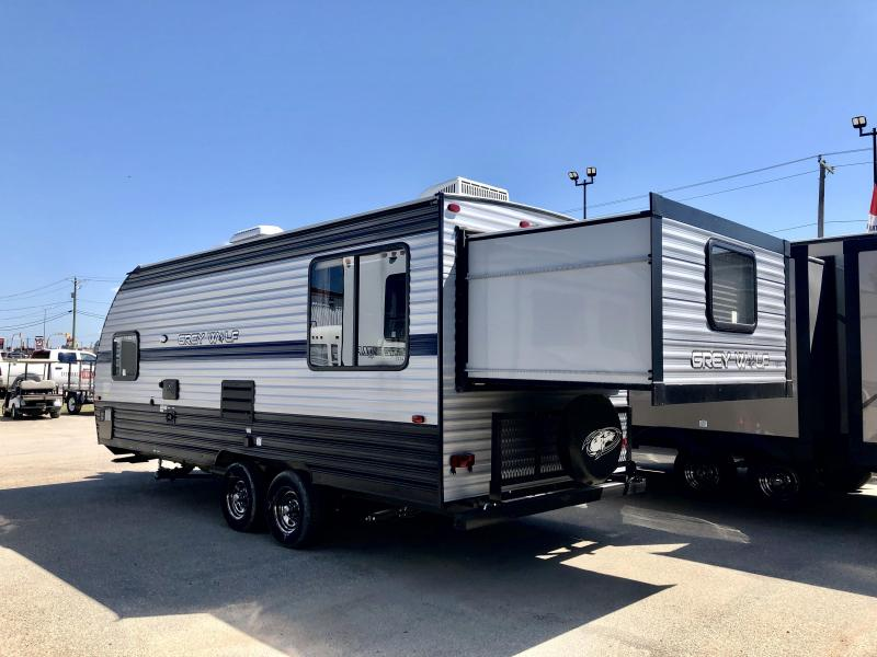 2019 Grey Wolf  Limited 19SM Unique Rear Slide-Out Travel Trailer