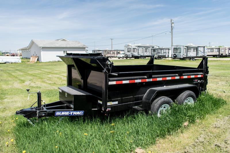 2019 Sure-Trac 6 x 10 LProfile 10K Single Ram Dump