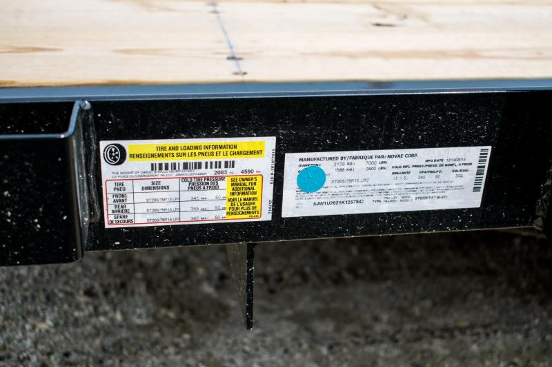 2019 Sure-Trac 7 X 20 Tube Top Utility 7K Tandem