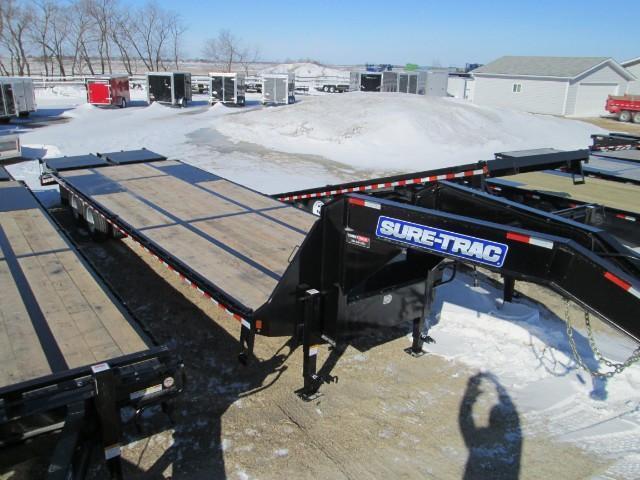 2017 Sure-Trac Gooseneck Deck Over 8.5X25+5