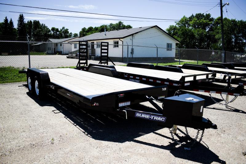 2018 Sure-Trac 7 x 20 Power Tilt Bed Car Hauler 10k