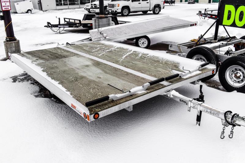 2016 SnoPro 12ft Lite-E Tilt Snowmobile Trailer