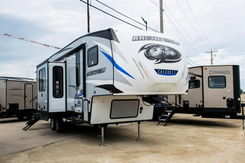 2020 Arctic Wolf Limited 305ML6 Fifth Wheel Camper