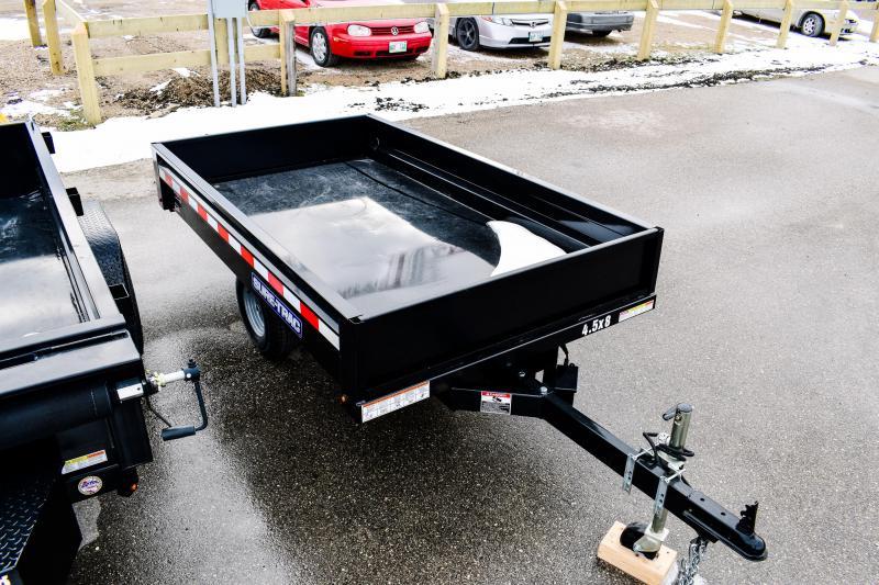 2018 Sure-Trac 4.5 x 8ft Utility Dump Trailer