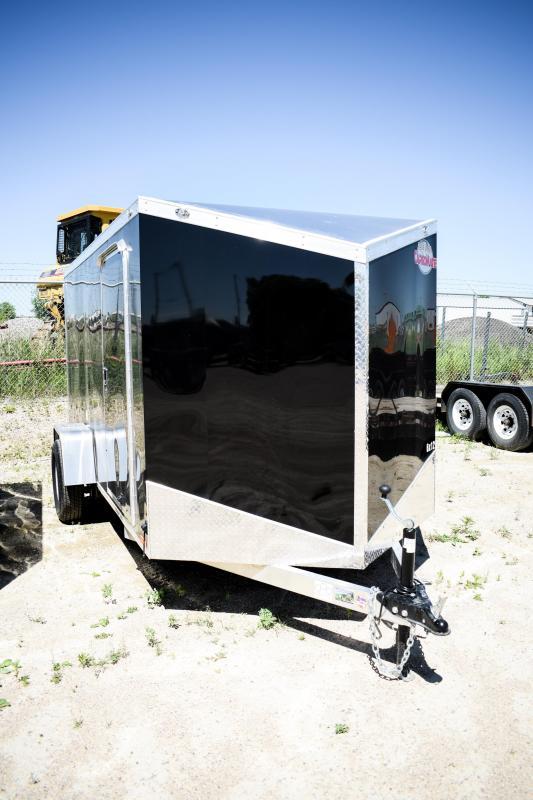 2019 Cargo Mate 6X12 Enclosed Cargo Trailer Aluminium 3k