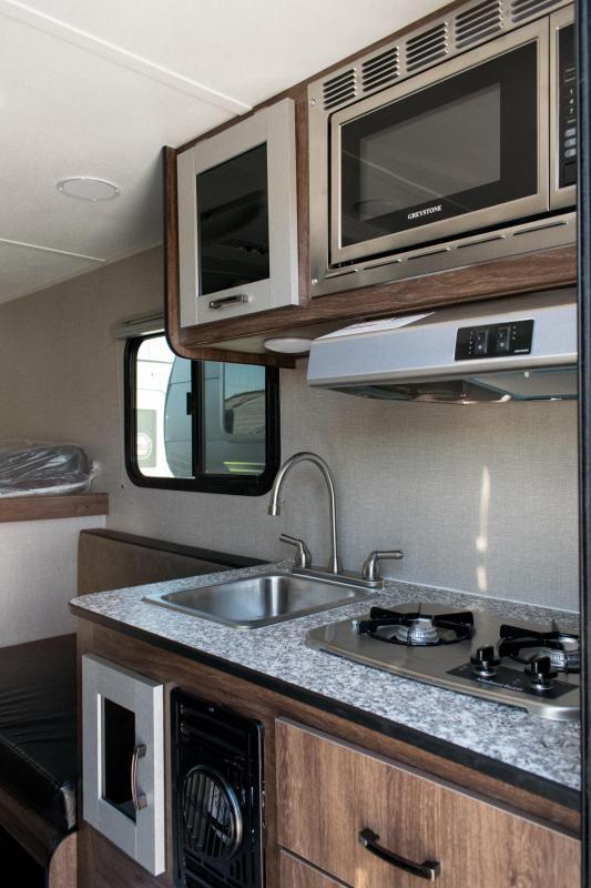 2020 Travel Lite 690FD Truck Bed Camper RV for Mid-Sized Trucks