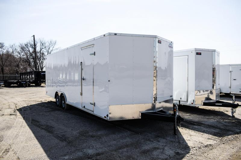 2018 Cargo Mate 8.5X24 Enclosed Cargo Trailer 10K