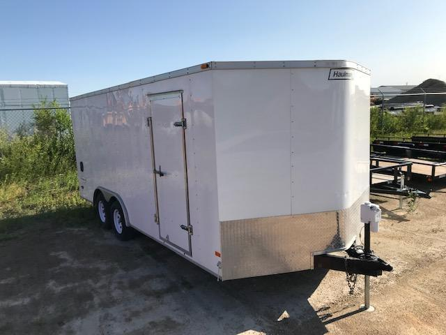 2012 Haulmark 8.5 x 18 Enclosed Cargo Trailer 7K Ramp