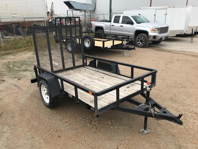 2012 Sure-Trac 5 X 8 Tube Top Utility Trailer 3K