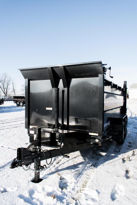 2020 Sure-Trac 7 X 14 LP 14K Telescopic 4ft Side Dump