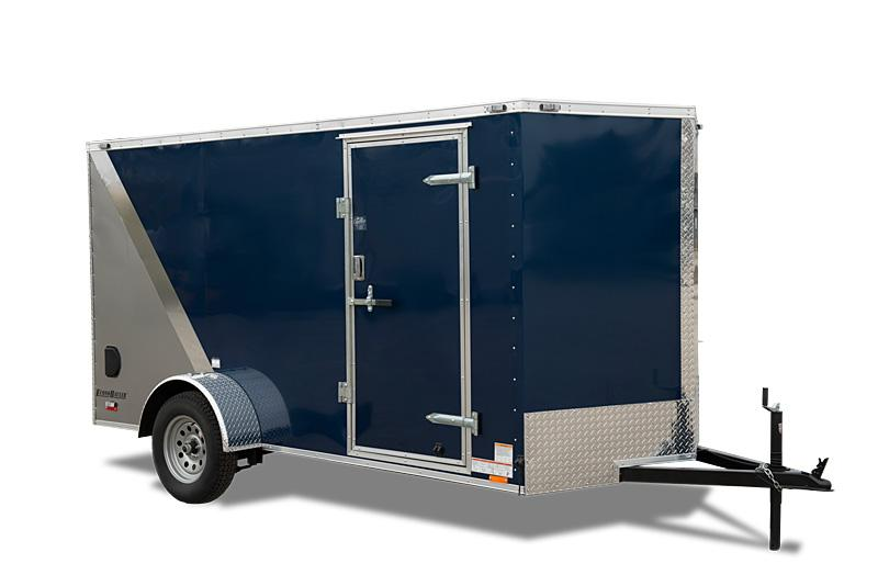 "2019 Cargo Mate 7X12 Enclosed +18"" Height Ramp"